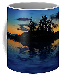 Coffee Mug featuring the photograph Dusk At Lookout Point by Rick Berk