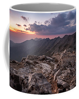 Dusk At Peak Vihren  Coffee Mug