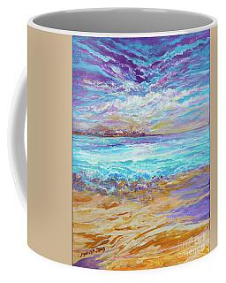 Dusk At The Beach Coffee Mug