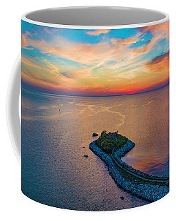 Coffee Mug featuring the photograph Dusk At The Knob by Michael Hughes
