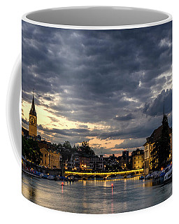 Dusk At Zurich Coffee Mug