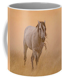 Coffee Mug featuring the photograph Dusty Evening by Mary Hone