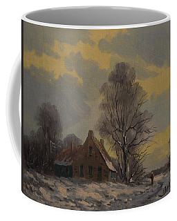 Dutch Snow Landscape Coffee Mug