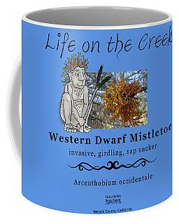 Dwarf Mistletoe Coffee Mug