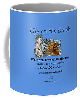 Dwarf Mistletoe Coffee Mug