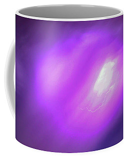 Coffee Mug featuring the photograph Dying Late Night Supercell 016 by NebraskaSC