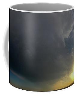 Dying Nebraska Thunderstorms At Sunset 010 Coffee Mug