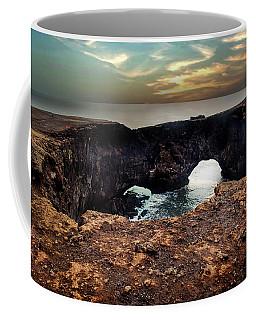 Dyrholaey Viewpoint In Iceland Coffee Mug