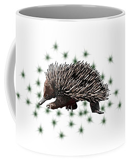 E Is For Echidna Coffee Mug
