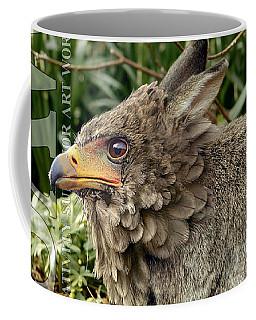 Coffee Mug featuring the digital art Eaglabbit by ISAW Company
