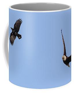 Eagle And Crow  Coffee Mug