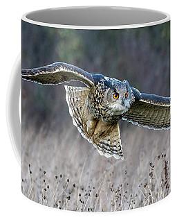 Eagle Owl Gliding Coffee Mug