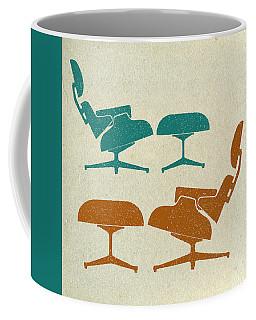 Eames Lounge Chairs II Coffee Mug