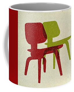 Eames Molded Plywood Chairs II Coffee Mug