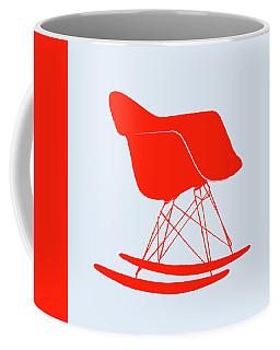 Eames Rocking Chair Red Coffee Mug