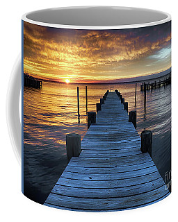 Easter Sunday Sunset On Long Beach Island Coffee Mug