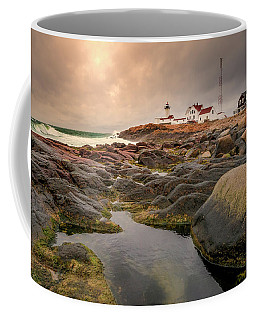 Eastern Point Lighthouse At Sunset Coffee Mug