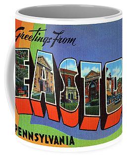 Easton Greetings Coffee Mug