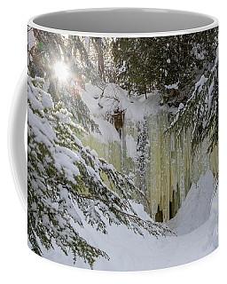 Eben Ice Caves Coffee Mug