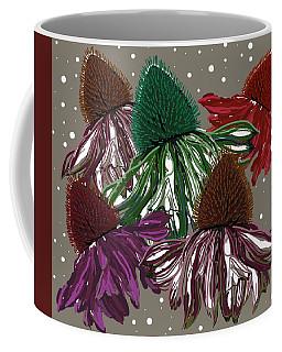 Echinacea Flowers Dance Coffee Mug