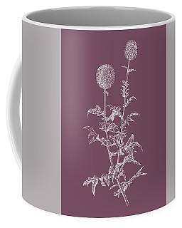 Echinopos Purple Flower Coffee Mug