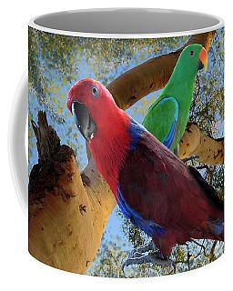 Eclectus Parrots Coffee Mug