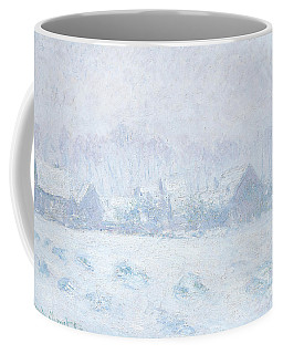 Effet De Neige A Giverny Coffee Mug