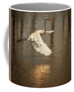 Egret 6 Coffee Mug