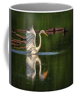 Egret 7 Coffee Mug