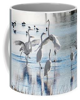 Egret Ballet 1400 Coffee Mug