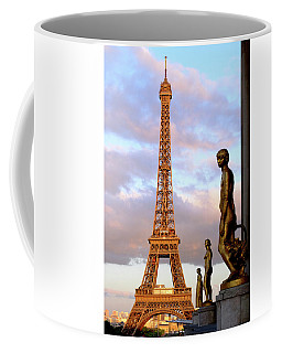 Eiffel Tower At Sunset Coffee Mug