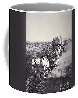 Eight Horse Heavy Freight Wagon Coffee Mug