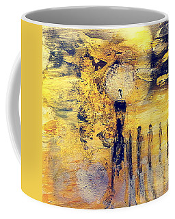 Coffee Mug featuring the painting Elaine by 'REA' Gallery