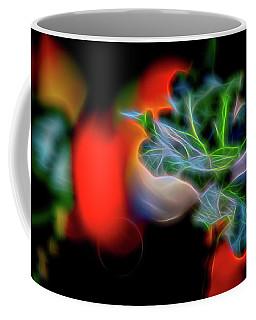 Electric Leaves Coffee Mug
