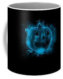 Electric Pumpkin Coffee Mug