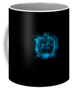 Electric Pumpkin Coffee Mug