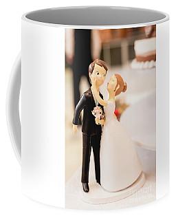 Elegant Wedding Cake Dolls Coffee Mug