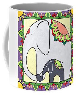 Elephant And Child 6 Coffee Mug
