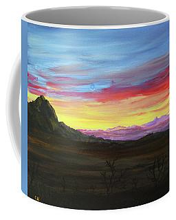 Elephant Head Twilight  Coffee Mug