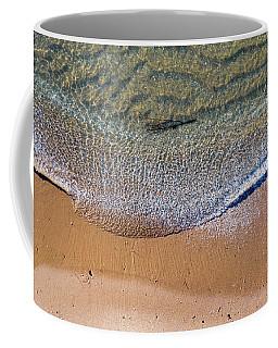 Elk Rapids Waves Aerial Coffee Mug