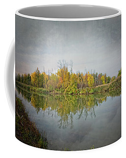 Coffee Mug featuring the photograph Ellicott Creek Reflections by Guy Whiteley