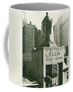 Ellis Tea And Coffee Store, 1945 Coffee Mug