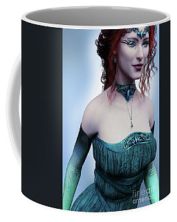 Elven Princess Portrait Coffee Mug