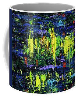 Elvis On Stage Coffee Mug
