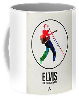 Elvis Presley Watercolor Coffee Mug