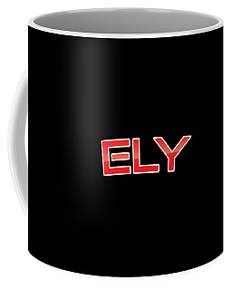 Coffee Mug featuring the digital art Ely by TintoDesigns