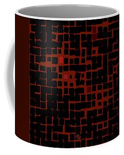 Coffee Mug featuring the digital art Ember by Attila Meszlenyi
