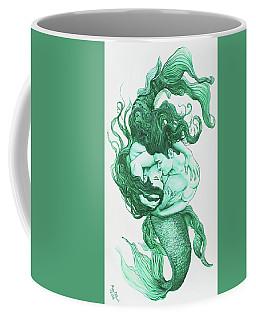 Embracing Mermen Coffee Mug