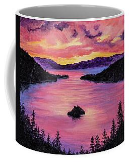 Emerald Bay Sunset Coffee Mug
