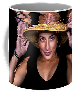 Coffee Mug featuring the photograph Emily 5 by Jim Lesher